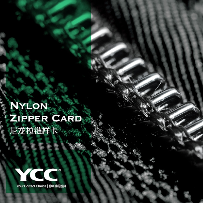 Nylon Zipper Card