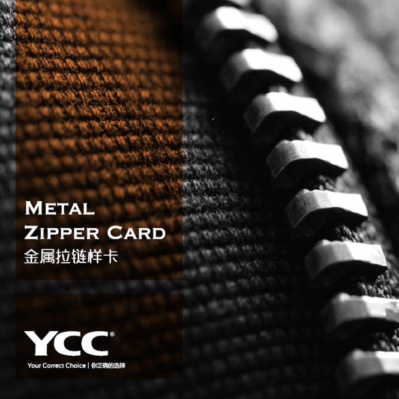 Metal Zipper Card